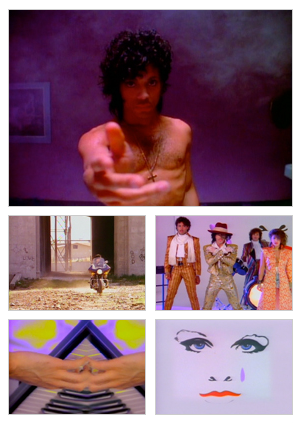 When Doves Cry music video selected snapshots