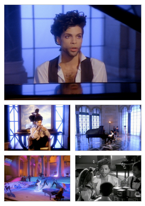 Diamonds And Pearls music video selected snapshots
