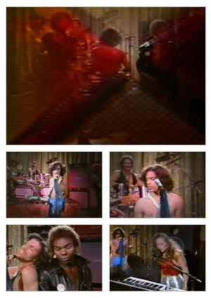 I Wanna Be Your Lover (Band version) music video selected snapshots