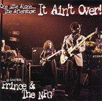 One Nite Alone... The Aftershow: It Ain't Over album artwork
