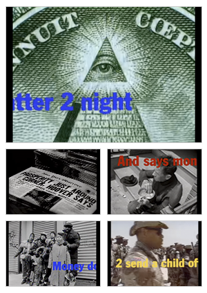 Money Don't Matter 2 Night music video selected snapshots
