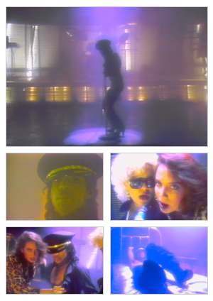 Automatic music video selected snapshots