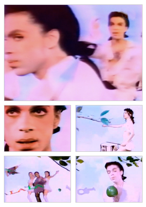 I Wish U Heaven music video selected snapshots