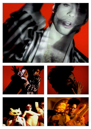 Wanna Melt With U music video selected snapshots