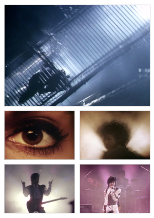 Let's Go Crazy music video selected snapshots