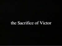 The Sacrifice Of Victor title screen